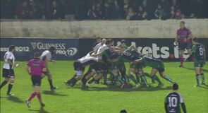 Connacht 43-3 Zebre