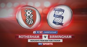 Rotherham 0-1 Birmingham