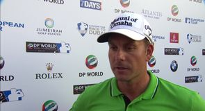 Stenson remains on course
