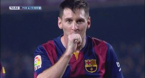 Messi makes La Liga history