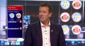 Leicester 0-0 Sunderland - Le Tissier