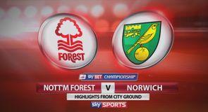 Nottm Forest 2-1 Norwich