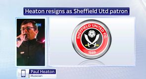 Heaton quits Blades role