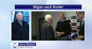 Wigan sack Rosler