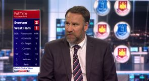 Everton 2-1 West Ham - Merson