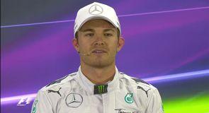 Rosberg on pole in Abu Dhabi