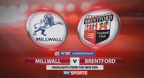 MIllwall 2-3 Brentford
