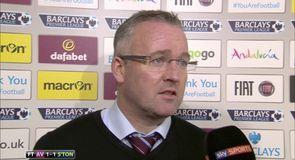 Lambert hails 'big point' against Saints
