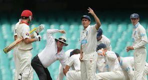 Australia's Hughes 'critical'