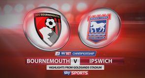Bournemouth 2-2 Ipswich