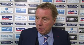 Redknapp disappointed not to draw
