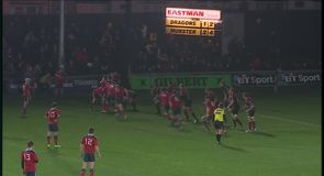 Dragons 12-38 Munster