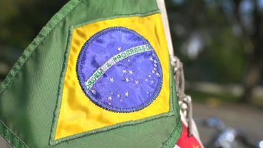 Senna's tour of Sao Paulo