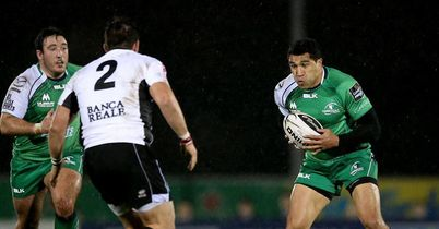 Five-try Connacht thrash Zebre