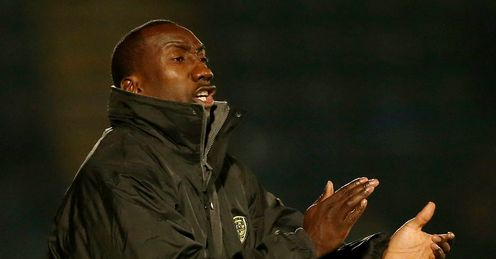 Boss hails battling Burton