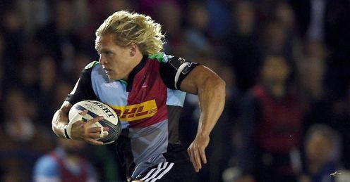 Quins end streak in Irish win