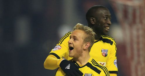 Brentford hang on for victory