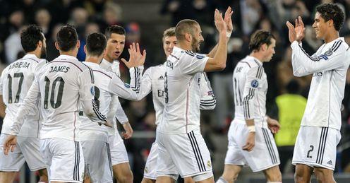 Real Madrid bid to break record