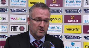 Lambert proud of Villa performance