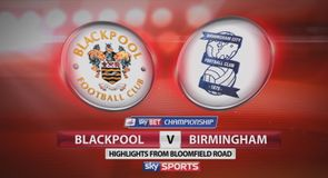 Blackpool 1-0 Birmingham