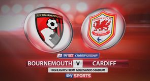 Bournemouth 5-3 Cardiff