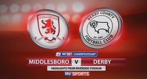 Middlesbrough 2-0 Derby
