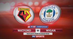 Watford 2-1 Wigan
