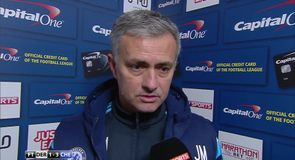 Mourinho praises his team