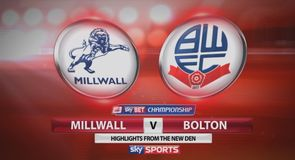 Millwall 0-1 Bolton