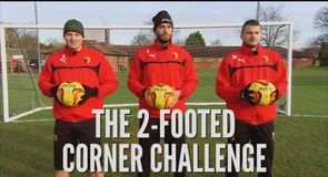 Two Footed Corner Challenge - Watford