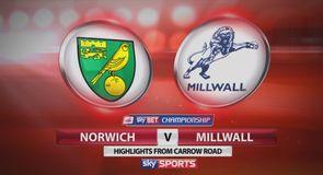 Norwich 6-1 Millwall