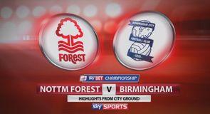 Nott'm Forest 1-3 Birmingham