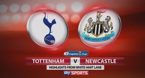 Tottenham 4-0 Newcastle