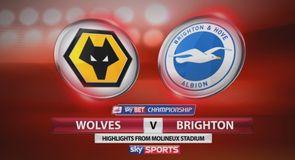 Wolves 1-1 Brighton