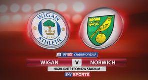 Wigan 0-1 Norwich