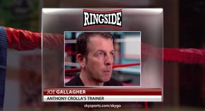 Gallagher: Crolla lucky to be alive
