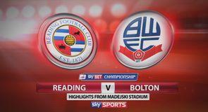Reading 0-0 Bolton