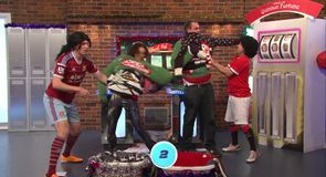 Hairy Strikers: Christmas Jumper Challenge