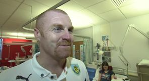 Dyche pleased with progress
