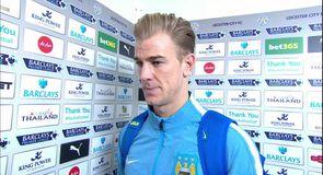 Leicester v Man City - Hart