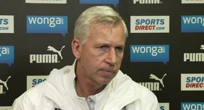 Pardew delighted with Gutierrez recovery