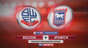 Bolton 0-0 Ipswich