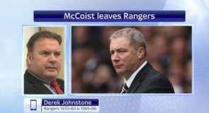 Johnstone expected McCoist departure