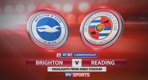 Brighton 2-2 Reading