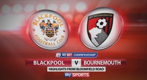 Blackpool 1-6 Bournemouth