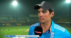 Cook: I'm the right man