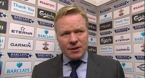 Koeman glad to end losing streak