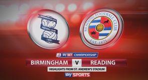 Birmingham 6-1 Reading