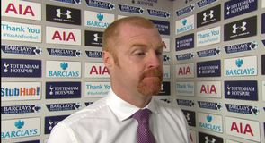 Dyche: We're adjusting to Premier League