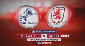 Millwall 1-5 Middlesbrough